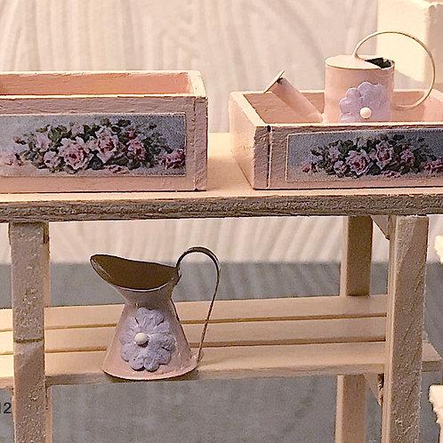 Boite décorée miniature