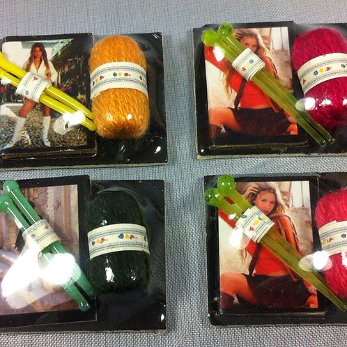Kit tricot miniatures 1/12