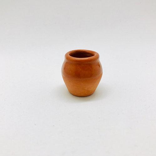 Pot à fleurs miniature 1:12