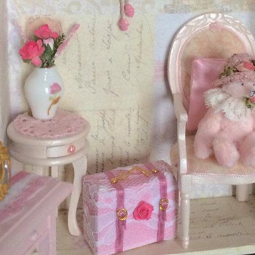 Valisette miniature 1/12, maison de poupée