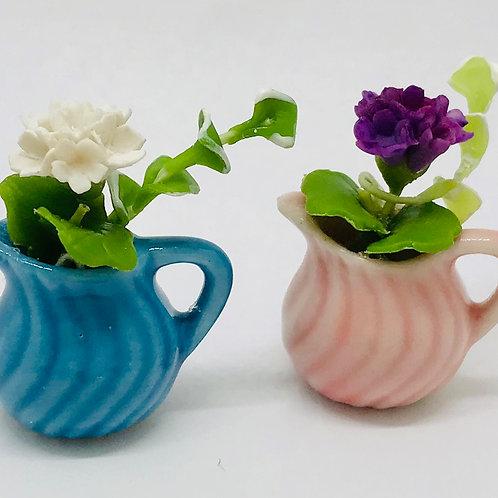 Vase carafe pour fleurs miniature
