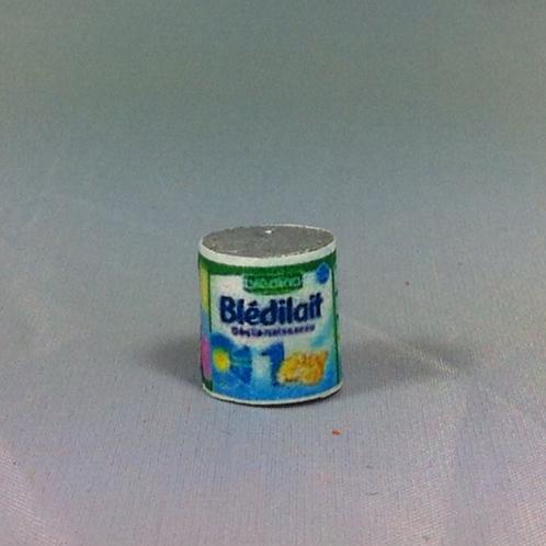 Boite de lait miniature, maison de poupée