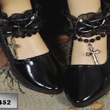 Chaussures haut talon style gothique BJD MSD