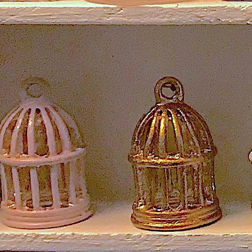 Cage en métal miniature 1/12