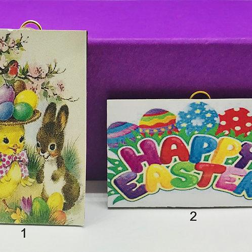 Cadre miniature Pâques pour maison de poupée