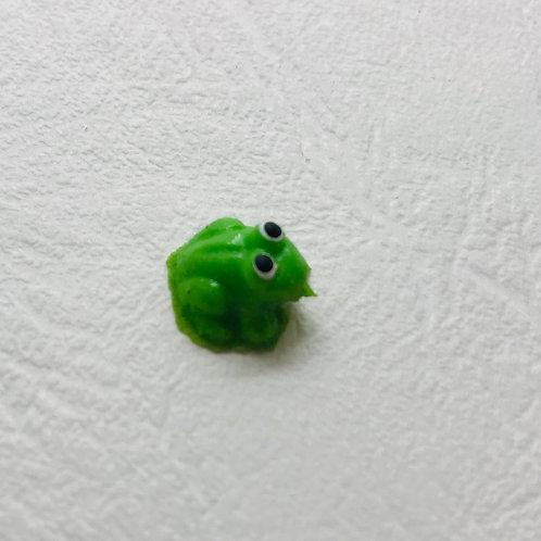 Grenouille miniature 1/12, maison de poupée