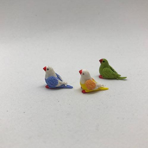 Oiseau miniature, maison de poupée