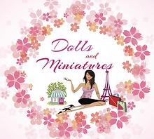 Dolls and Miniatures Logo maison arbre.p