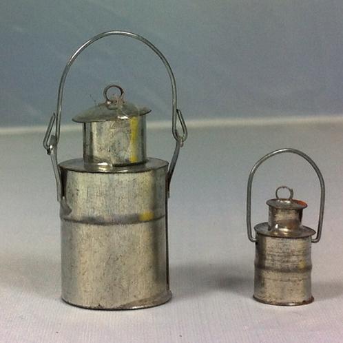 Pot à lait miniature 1/12, maison de poupée