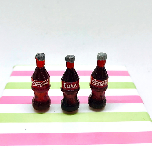 Lot de 3 boissons miniature