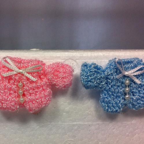 """Brassière bébé """"Perles"""" miniature, maison de poupée"""