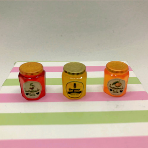 Pot confiture, miel miniature