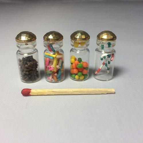 Bocaux à bonbons miniature