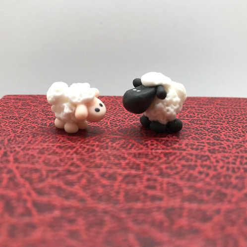 Mouton déco Noël miniature