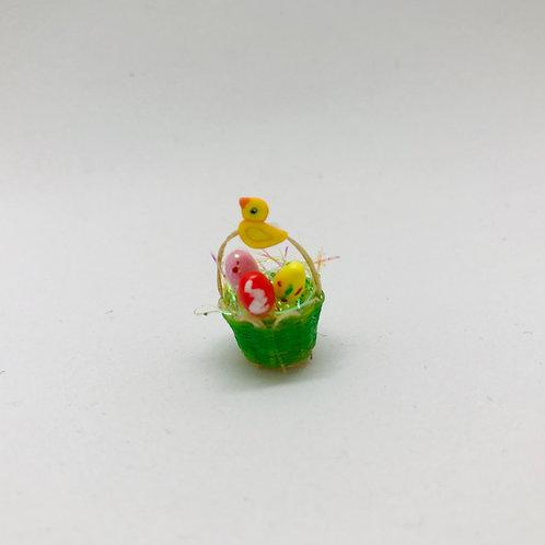 Corbeille Pâques miniature