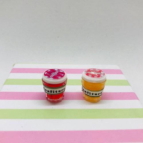 Pots de confiture miniature