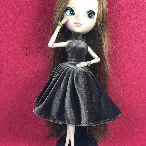 Robe velours Pullip