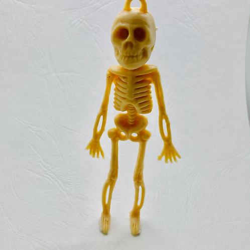 Squelette Halloween miniature 1/12, maison de poupée