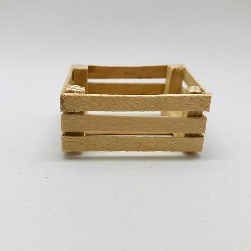 Cageot miniature 1:12, maison de poupée