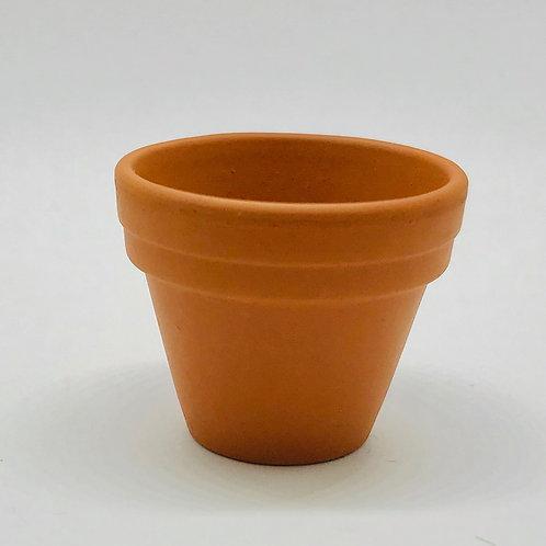 Grand pot de fleurs miniature