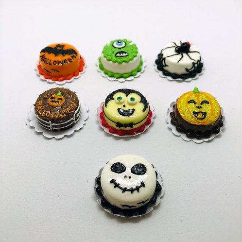 Gâteau Halloween, maison de poupée