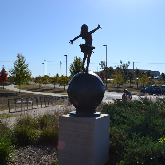 Sculpture at Mercy Park