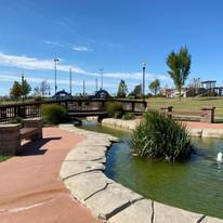 Fountain at Cunningham Park