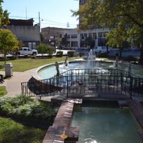 Fountain at Spiva Park