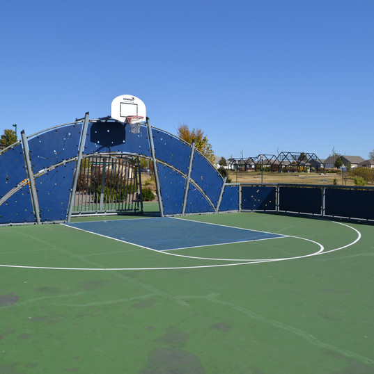 Basketball Court at Cunningham Park