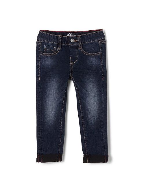 s.Oliver Jeans mit Elastikbund, slim