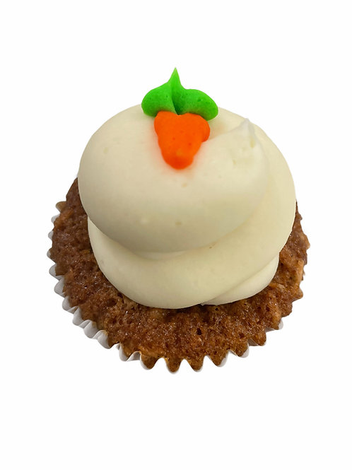Carrot cupcakes (2 pack)