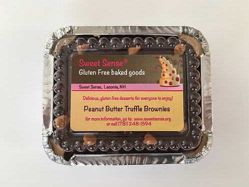 Peanut Butter Truffle Brownies (small)