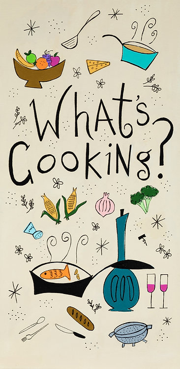 What's Cooking Canvas