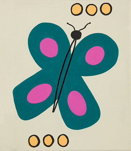 Butterfly and Dots