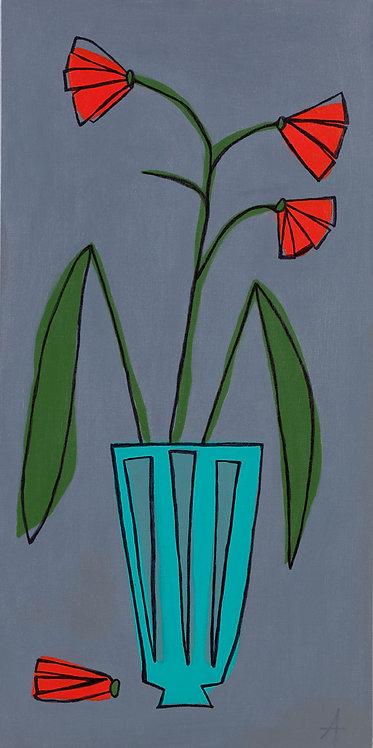 Turquoise Vase #1