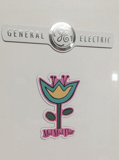 Flower Magnet - $6