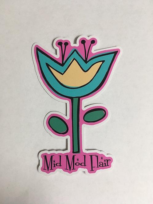Flower Sticker - $4