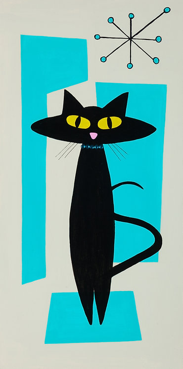 Mod Black Cat