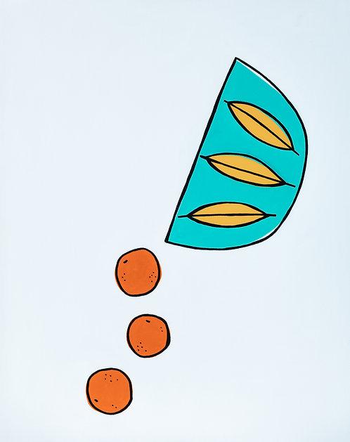 Spilled Oranges