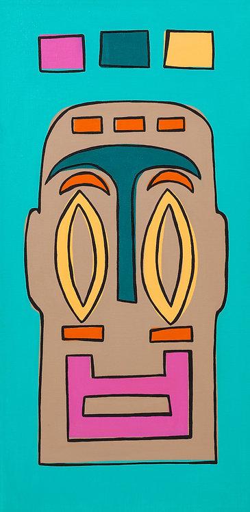 Funky Tiki Canvas