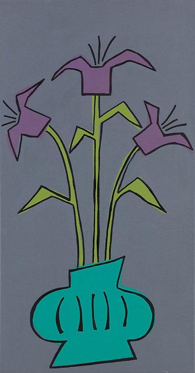 Turquoise Vase #2