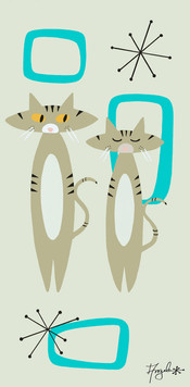 Two Tabbies