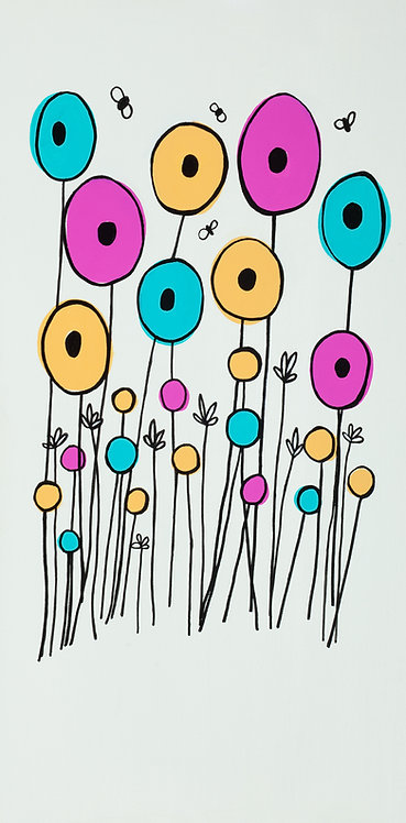 Groovy Poppies Canvas