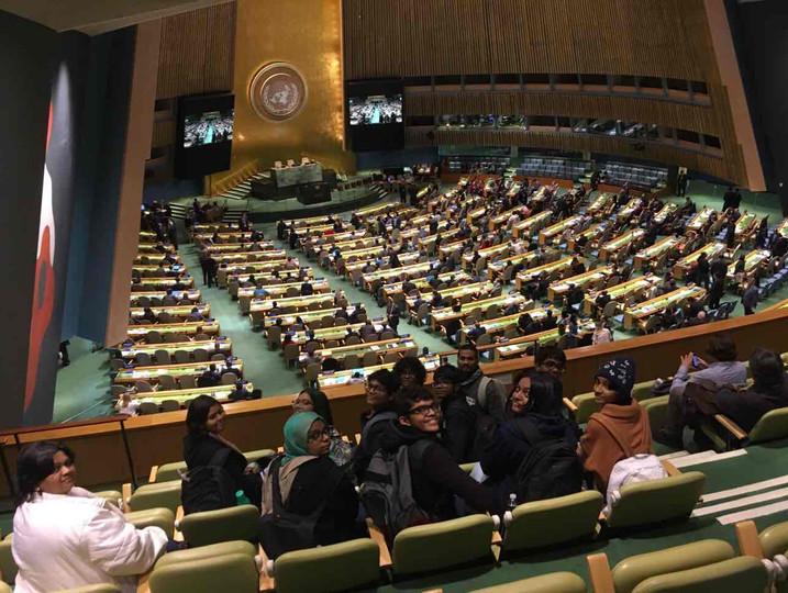 Visit to UN Headquarters