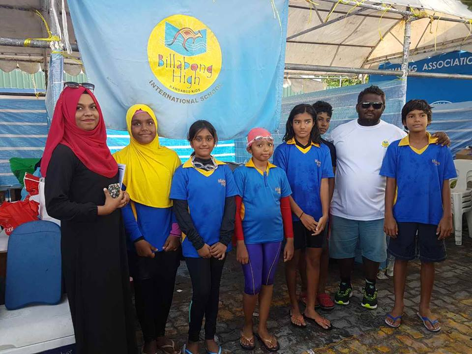 Interschool Swimming Competition