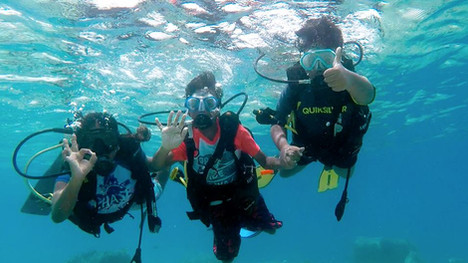 86 students complete PADI Bubblemaker Program