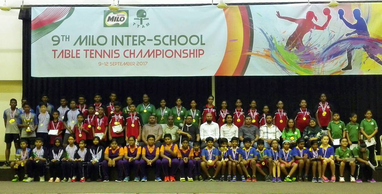 Inter-School Table Tennis Championsh