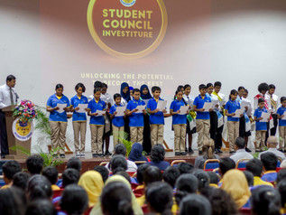 2018 Student Council Investiture