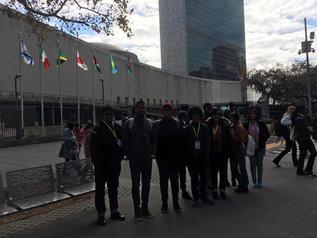 BHIS students visit UN Headquarters