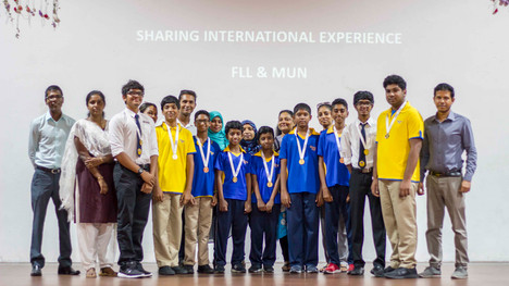 Special Assembly - FLL and MUN participants
